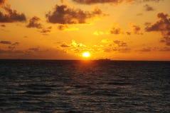 Maldiverna flyg- sikt Royaltyfria Bilder