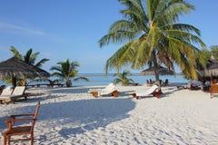 Maldiverna stränder Fotografering för Bildbyråer