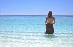 maldives Royaltyfri Fotografi