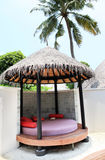 Thatched hut Royalty Free Stock Photo