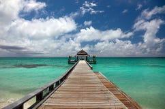 Maldives. Rasdhoo Atoll, Kuramathi Island Royalty Free Stock Images