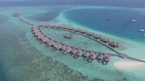 Maldives. Aerial photo Royalty Free Stock Photography