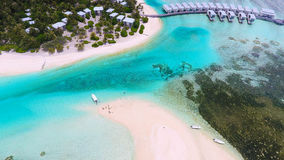 Maldives aerial view Stock Photography
