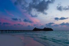 maldives Ari Atoll immagine stock libera da diritti