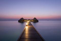 maldives Ari Atoll fotografie stock libere da diritti