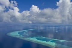 Maldives-Atolle stockfotografie