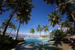 Maldives basen Obraz Royalty Free
