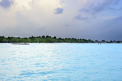 Maldives beach Stock Photo