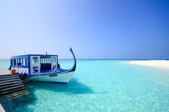 Maldives beach Stock Image