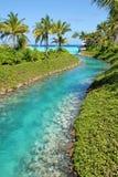 Maldives beach resorts Royalty Free Stock Photos