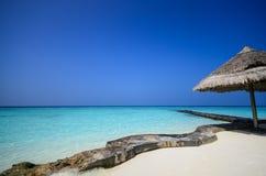 Maldives beach Stock Photography