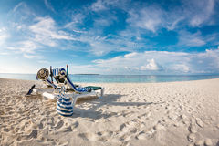 Maldives beach Royalty Free Stock Images