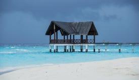 Maldives. The best place for fishing. Amazing sunsets and sunrises stock photography