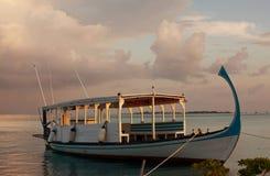 Maldives boat Royalty Free Stock Photos