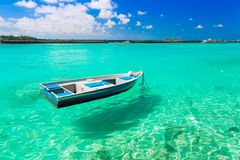 Maldives, boat Stock Photos