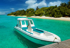 Maldives Boat Stock Photos