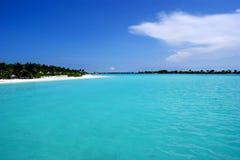 Maldives bonitos fotografia de stock royalty free