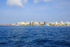 Maldives bonitos fotografia de stock
