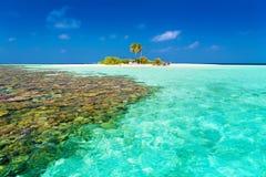 Maldives  day tropical Royalty Free Stock Image