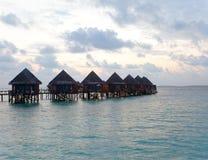 Maldives Early morning royalty free stock image