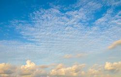 Cloudy sky at Maldives Royalty Free Stock Photo