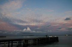 Cloudy sky at Maldives Royalty Free Stock Image