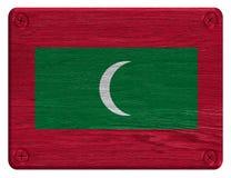 Maldives flag Royalty Free Stock Photo