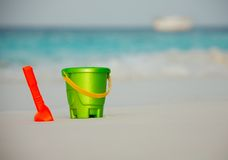 Maldives - great place for kids vacation Stock Photography