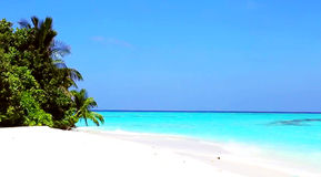 Maldives. Holidays in the Maldives. white beach Stock Image