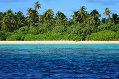 Maldivas: Ilha do paraíso fotografia de stock royalty free
