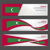 Maldives independence day abstract background design banner and. Flyer, postcard, landscape, celebration illustration - This Vector EPS 10 illustration is best vector illustration