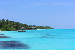 The Maldives Indian Ocean Stock Image