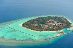 Maldives-Insel Lizenzfreies Stockfoto