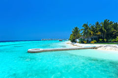 Maldives island Royalty Free Stock Image