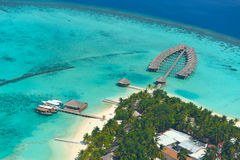 Maldives island Stock Image