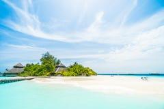 Maldives island Royalty Free Stock Photos