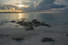 Maldives Kani Island Apr 2015 Royalty Free Stock Image