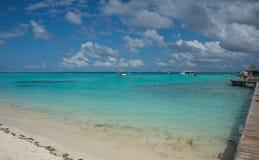 Maldives Kani Island April 2015. Stock Photos