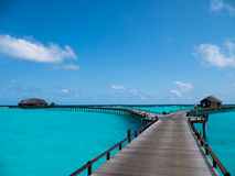Maldives kurort Obraz Royalty Free
