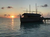 Maldives - Luxury Resort Island Stock Photo