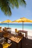 Maldives-Meerblick Stockfotografie