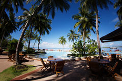 Maldives pływacki basen Fotografia Royalty Free