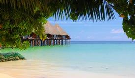 Maldives paradise Stock Image