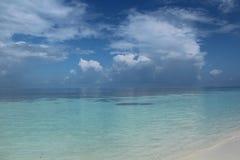 Maldives. Paradise island Stock Photography