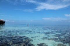 Maldives. Paradise island Stock Photo