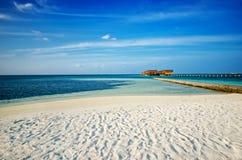 Maldives peer Royalty Free Stock Photography