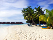 Maldives plaża Obraz Royalty Free