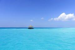 Maldives plaża zdjęcia royalty free