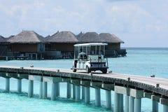 Maldives-Rücksortierung Stockfotografie