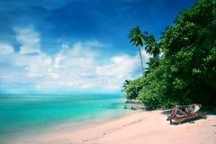 Maldives-Rücksortierung Medufushi lizenzfreie stockbilder